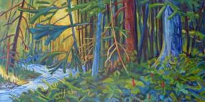 Eaglecrest-Forest-Stream-18-x-36-acrylic-800