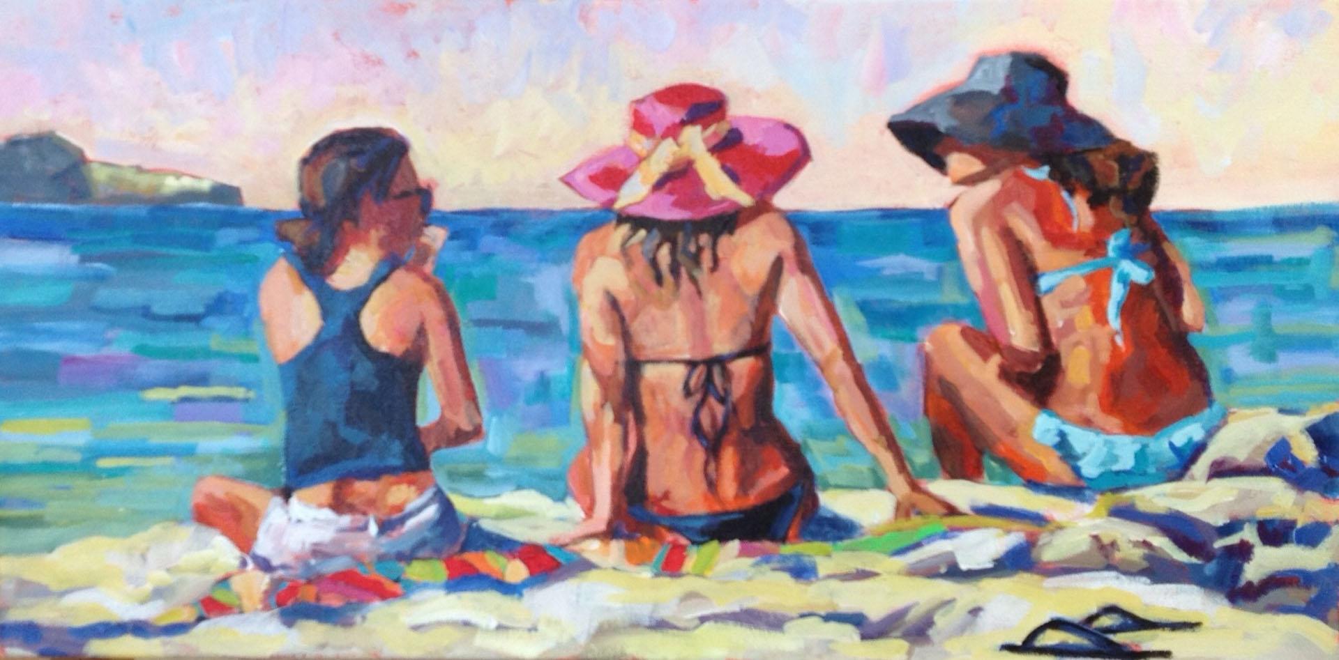 Talk Story - Kailua Beach 12 x 24